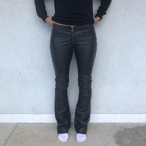 Zadig & Voltaire Pants - Zadig & Voltaire Sexy Zip Crotch Leather Pants